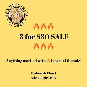 3 for $30 sale Look for the Flame and Bundle